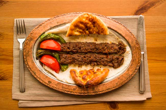 Adana is world famous for its cuisine, especially for its kebabs.