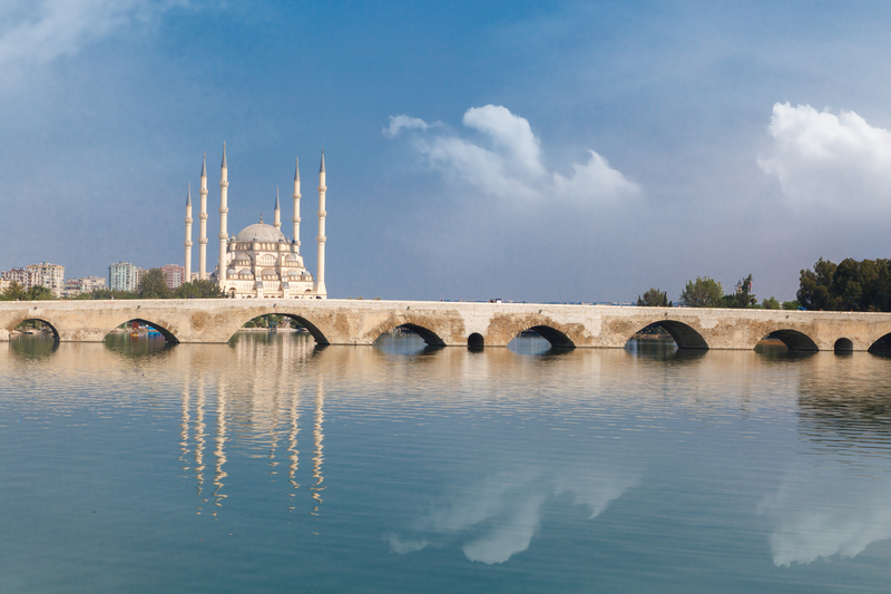 The Stone Bridge is one of the Roman remains in Adana.